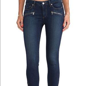 Paige Jane zip crop jeans size 27